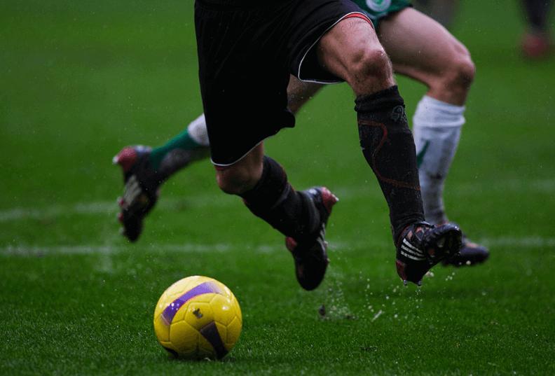 Залагане на футбол